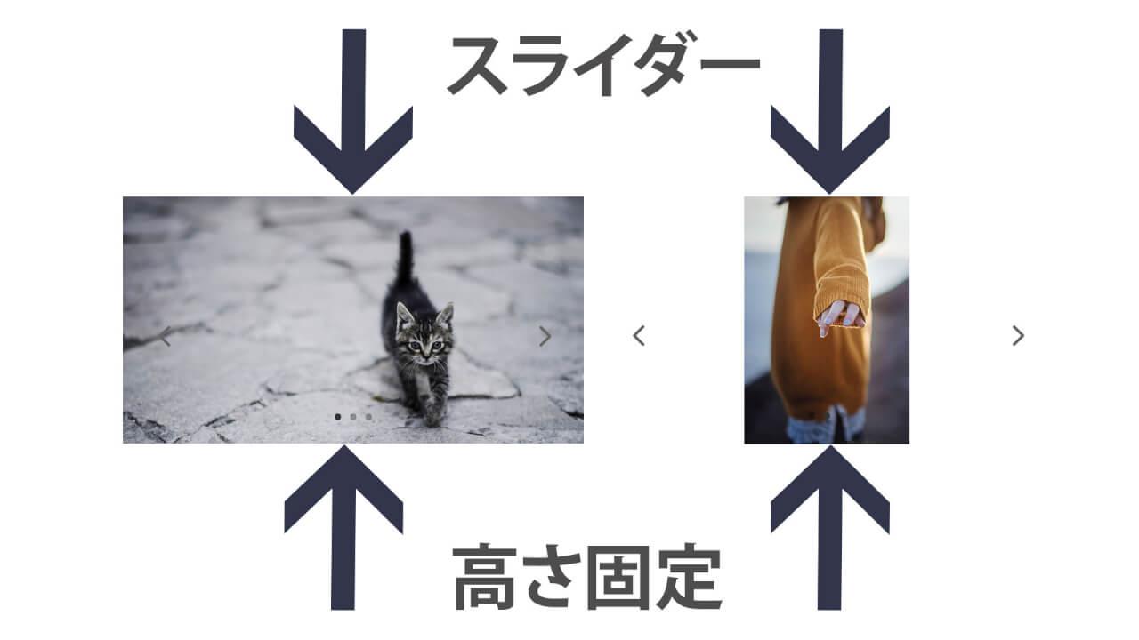 Diviの画像スライダーの高さを固定する