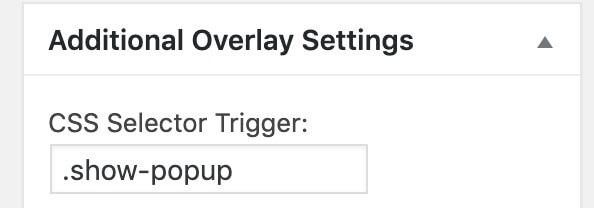 CSSセレクタでクリックしたらポップアップが表示するボタンを選択