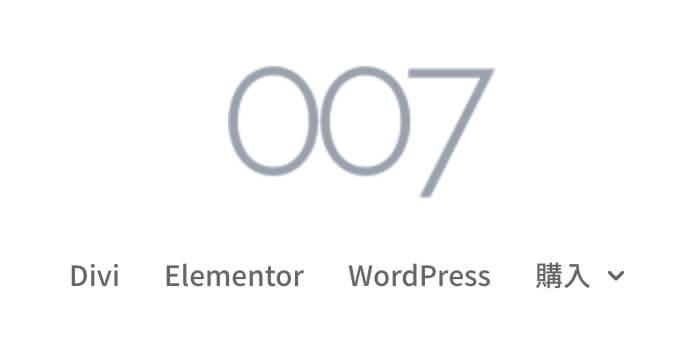 centered logo