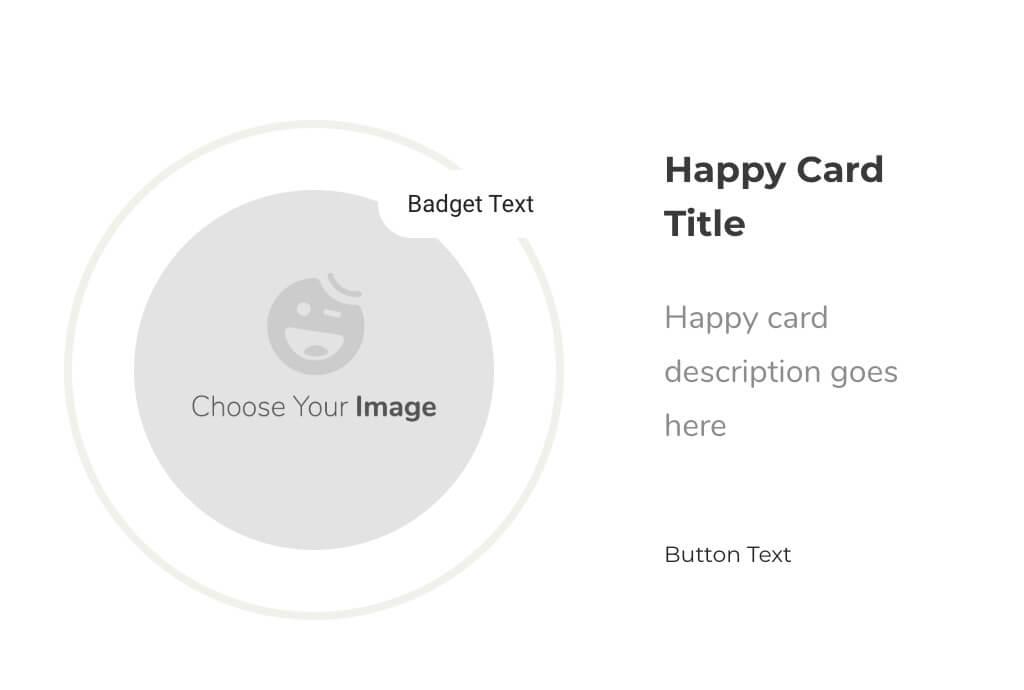 Happy Elementor Addons Proのカードウィジェット