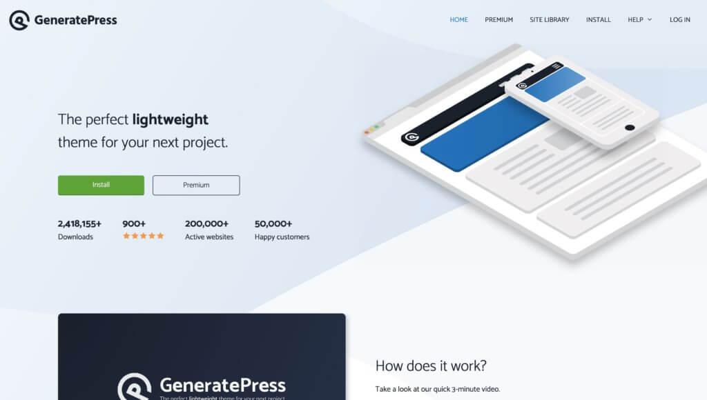 GeneratePressテーマ