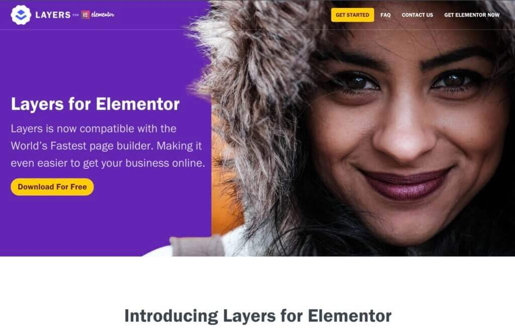 Layers for Elementor