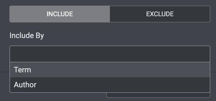 Elementor ProのポストウィジェットのIncludeの設定