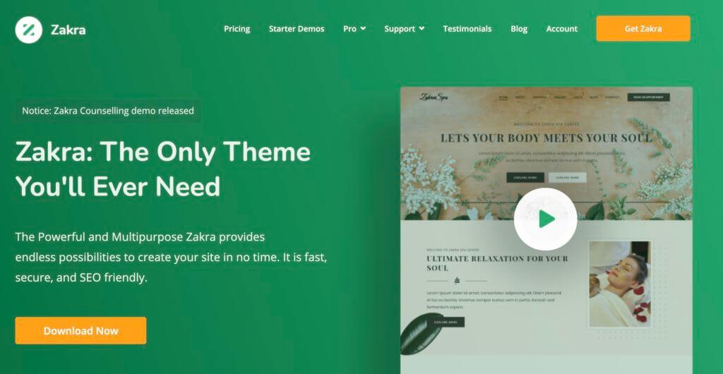 Zakraの公式サイト